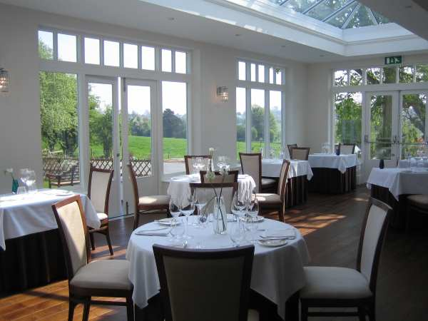 Fishmore Hall dining room