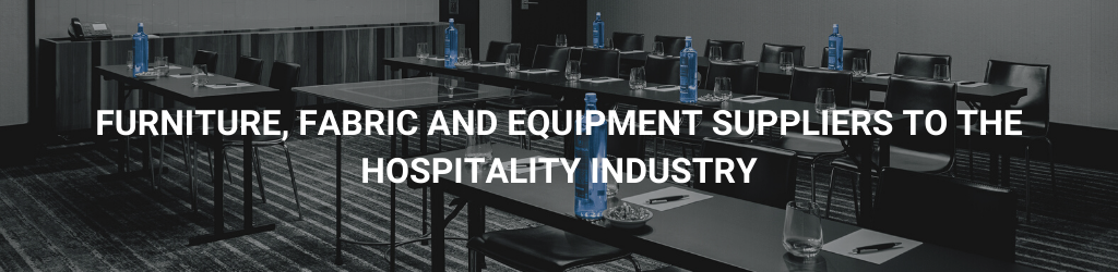Contract furniture, fabrics & equipment for the hospitality industry