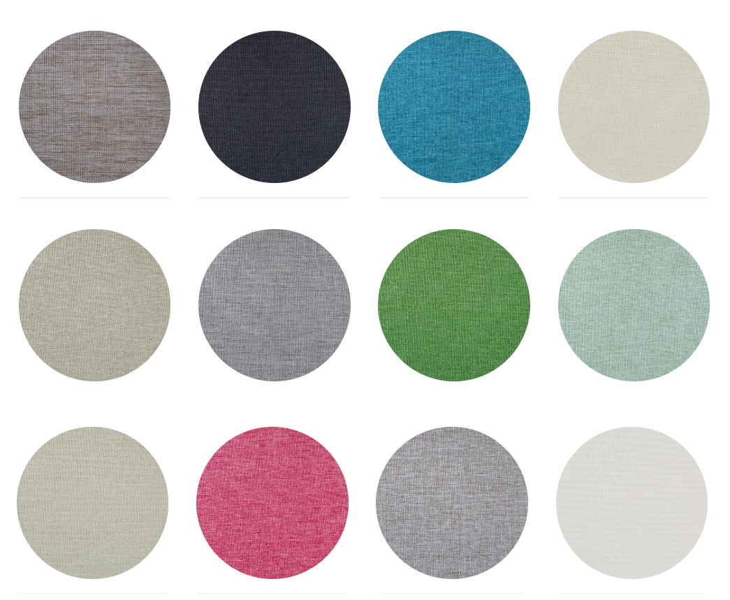 Venice Contract Fabric Collection Colours