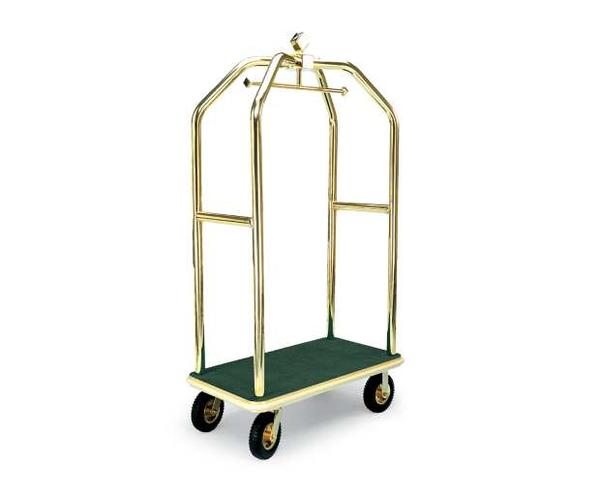 2410 Deluxe Luggage Cart