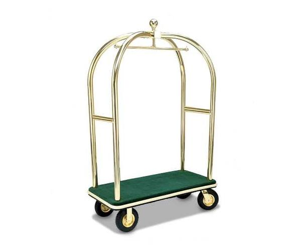 2437 Birdcage Luggage Cart