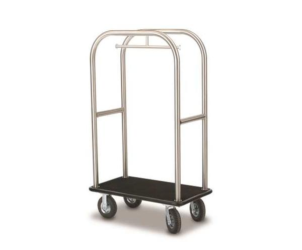 2512-SS Deluxe Luggage Cart