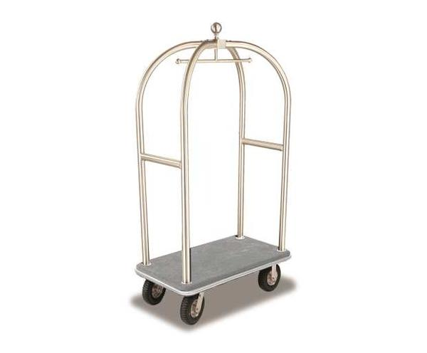 2521-SS Birdcage Luggage Cart