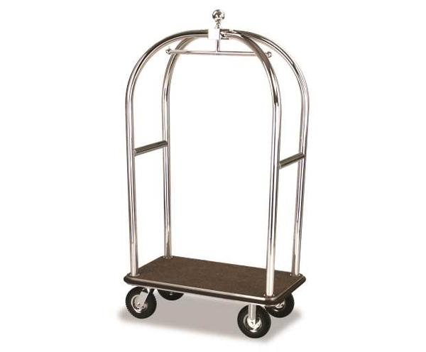2525-SS Birdcage Luggage Cart