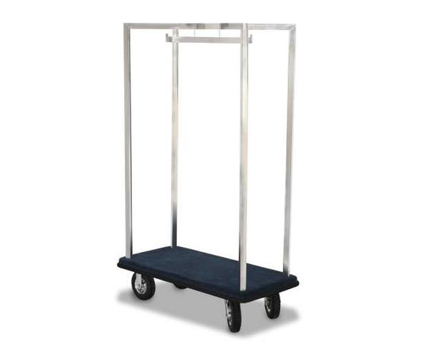 2581-SS Deluxe Luggage Cart