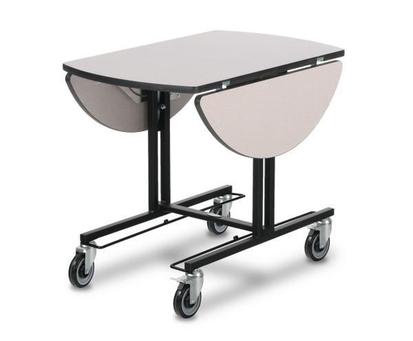 Room Service Trolley with hot box rails 4970