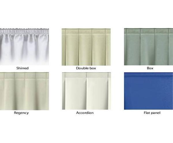 Stage Skirting Pleated Skirting