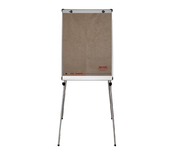 Personalised flipchart cover with embroidered logo