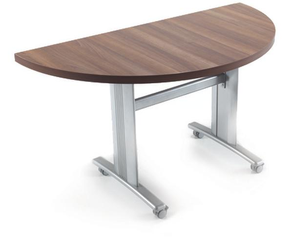 Half round and round flip top table available