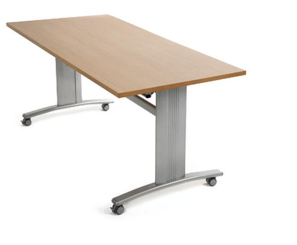 Aluminium frame flip top table