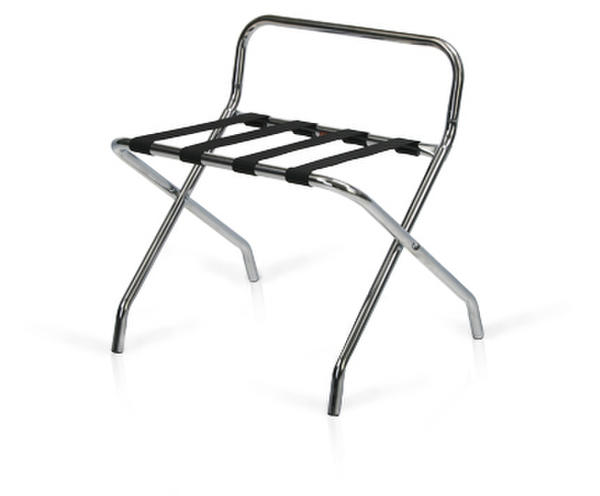 Folding hotel luggage rack 800-CH Chrome