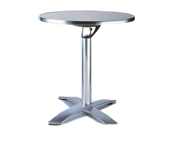 Folding round cocktail table (Manhattan)