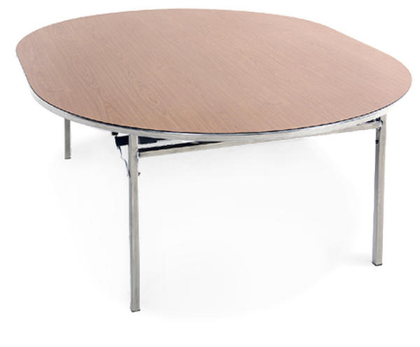 Table pliante ovale