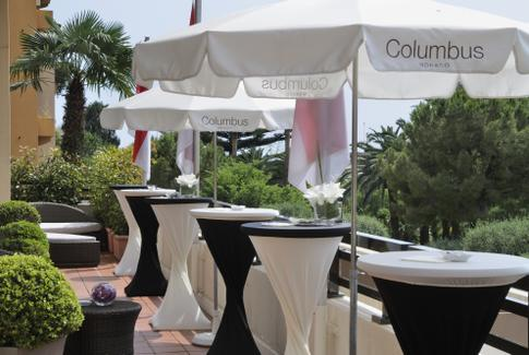 Cocktail table covers – Hotel Columbus Monte-Carlo, Monaco