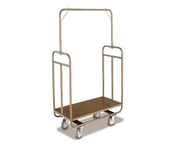 Economy hotel luggage trolley
