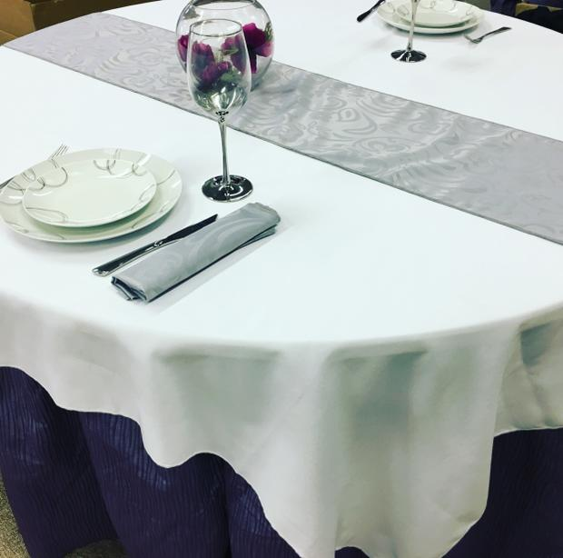 Serenity Tablecloths and Napkins