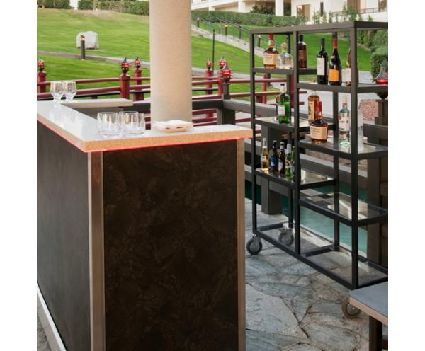 Mobile bar & back bar
