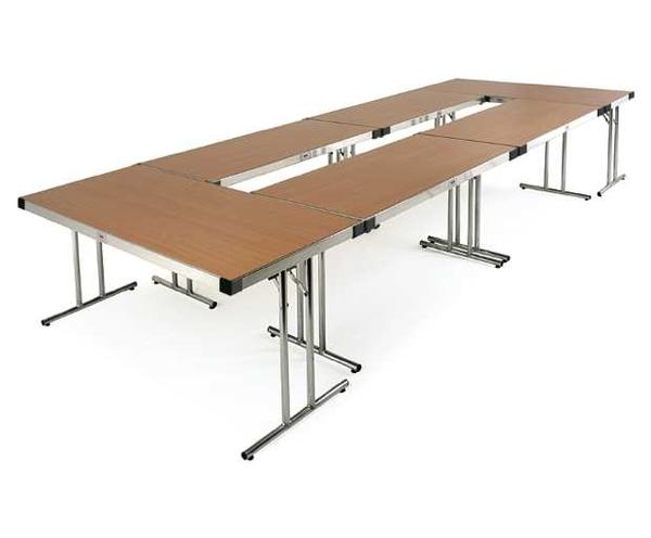 Modular office meeting room table