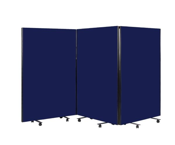 Room Divider Screen - Dark Blue