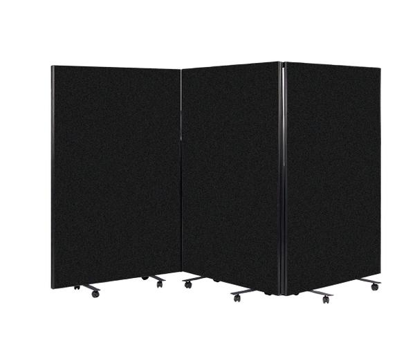 Room Divider Screen - Black