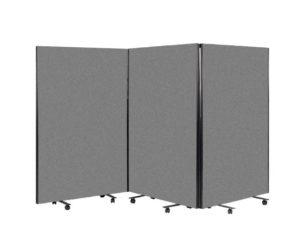 Room Divider Screen - Dark Grey