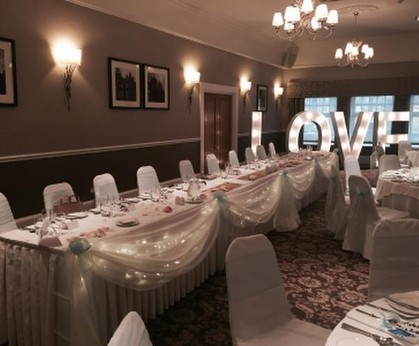 Table Skirting for Wedding Venues