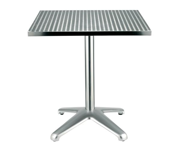 Table Grenadine, plateau aluminium