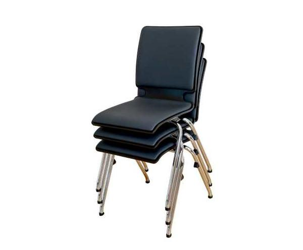 Stackable conference chairs - stack up to 10 chairs