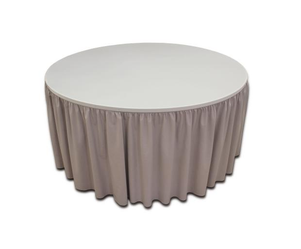 Simple Fit Table Skirting Designs By Hotel Supplier