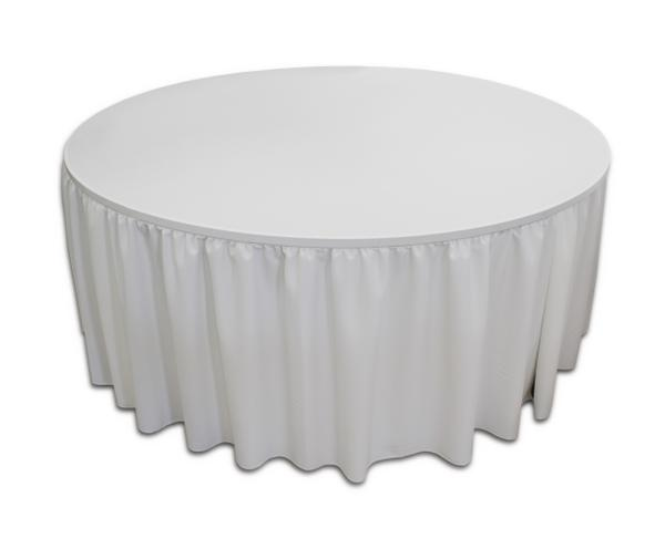 Simple-Fit Table Skirting